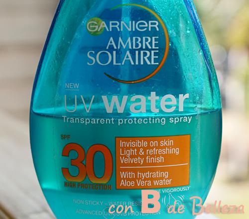 Protección solar agua Garnier