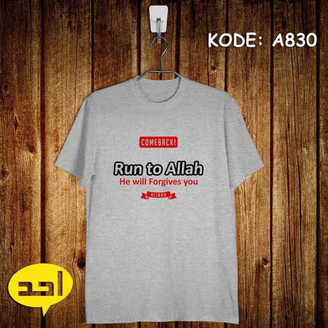run to allah