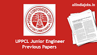 UPPCL Junior Engineer Previous Papers