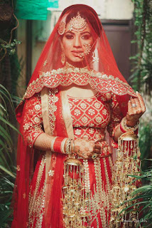 2. Pengantin Kitcy: The Ravishing Red Diva pengantin India tercantik