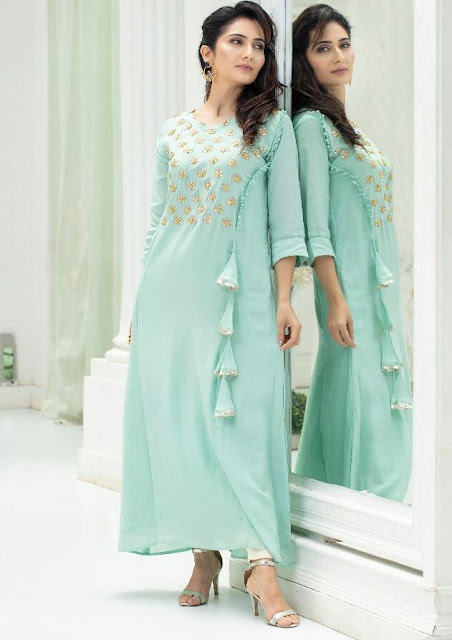 Psyna Panchi Handwork Muslin Gown buy wholesale