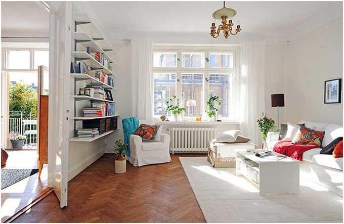 13 skandinavische wohnzimmer design mit faszinierendem effekt de haus. Black Bedroom Furniture Sets. Home Design Ideas