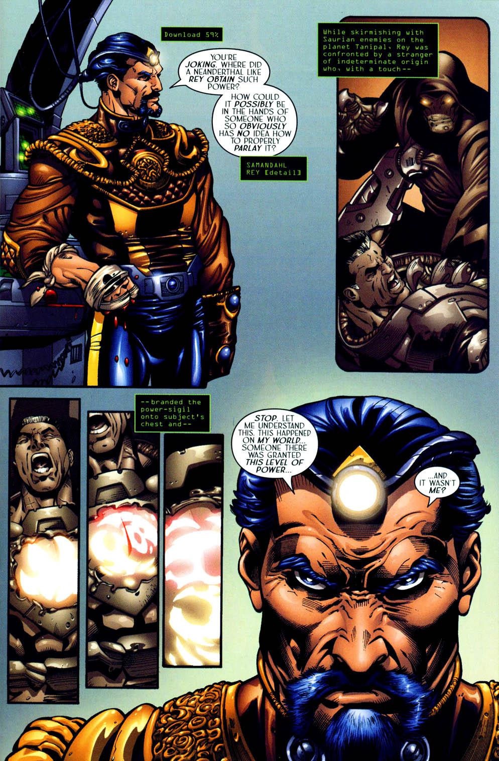 Read online Sigil (2000) comic -  Issue #12 - 13