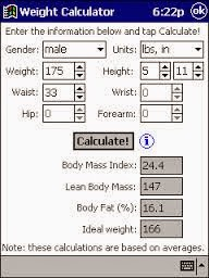 Weight Calculator
