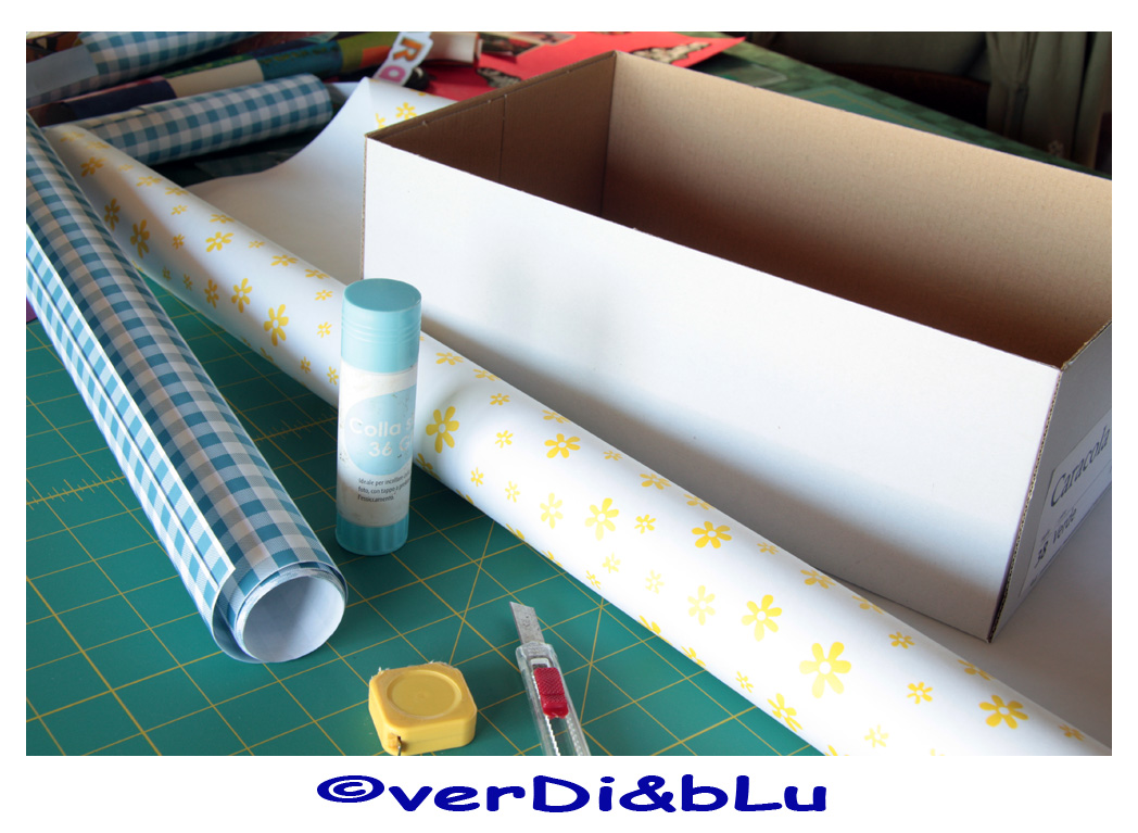 Verdi Blu Divertissements Mammeschi Tutorial Per Rivestire
