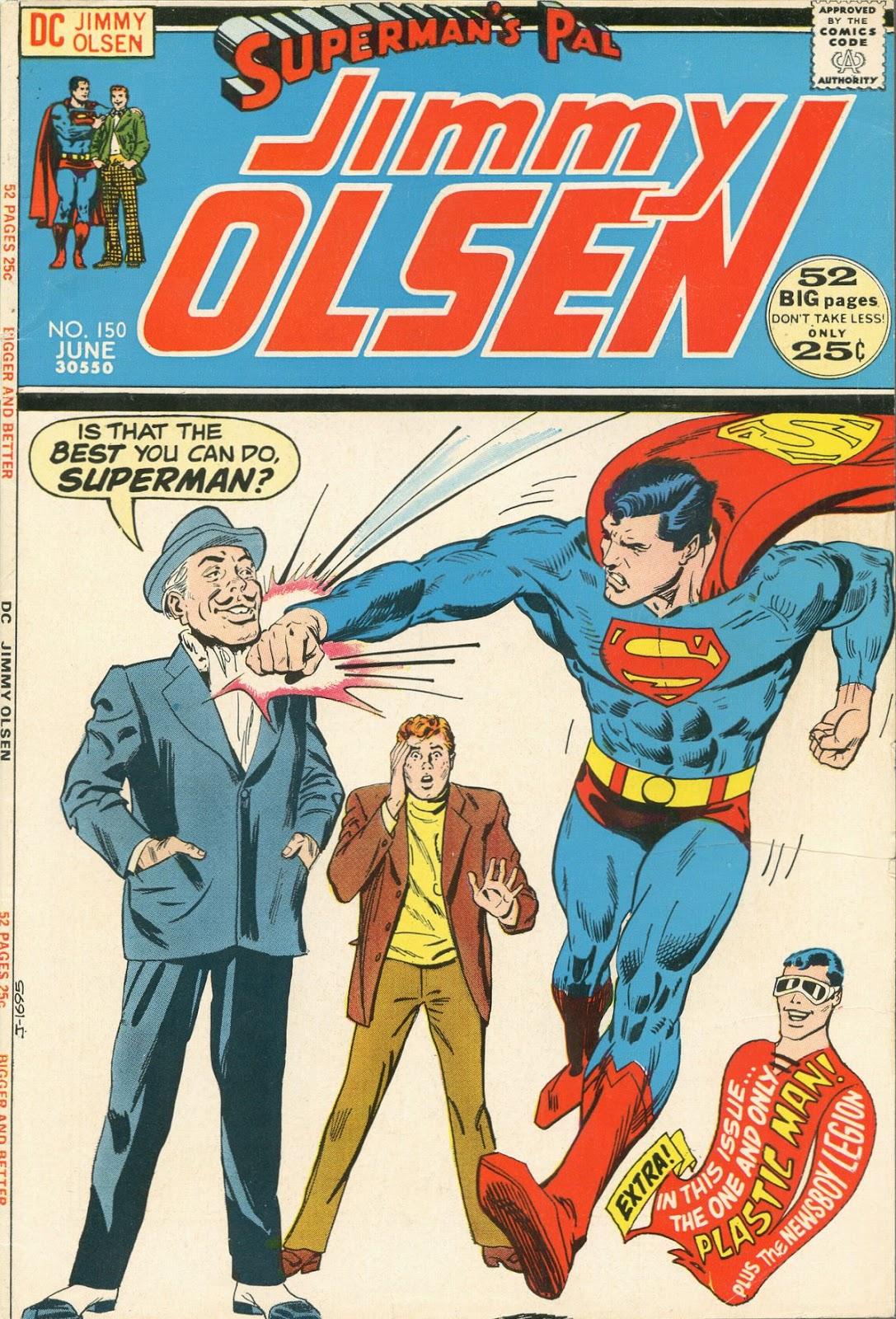 Supermans Pal Jimmy Olsen (1954) 150 Page 1