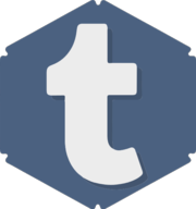 tumblr hexagon icon