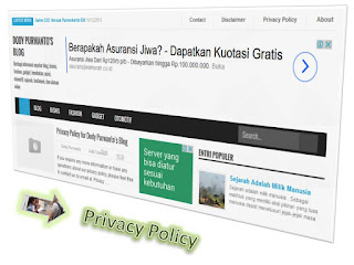 Privacy Policy for Dody Purwanto's Blog