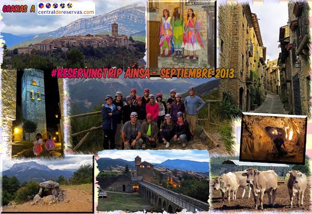 #ReservingTrip en Aínsa, Huesca, España