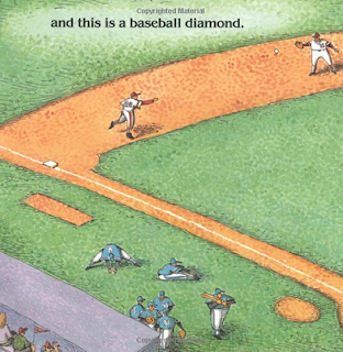 sample page #2 from THIS IS BASEBALL  by Margaret Blackstone