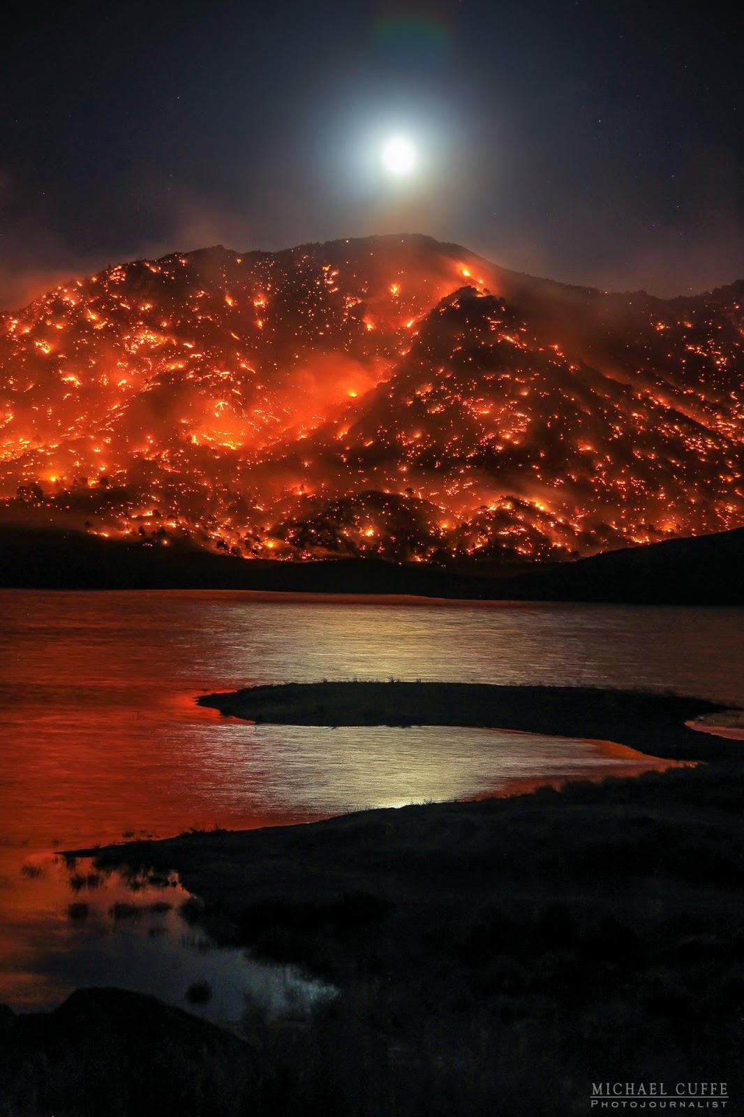 Lake Isabella Fire Map.Cfn California Fire News Cal Fire News Ca Krn Erskine Fire Wui