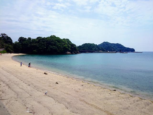 とびしま海道 上蒲刈島 県民の浜