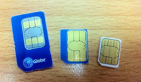 nano sim card comparison