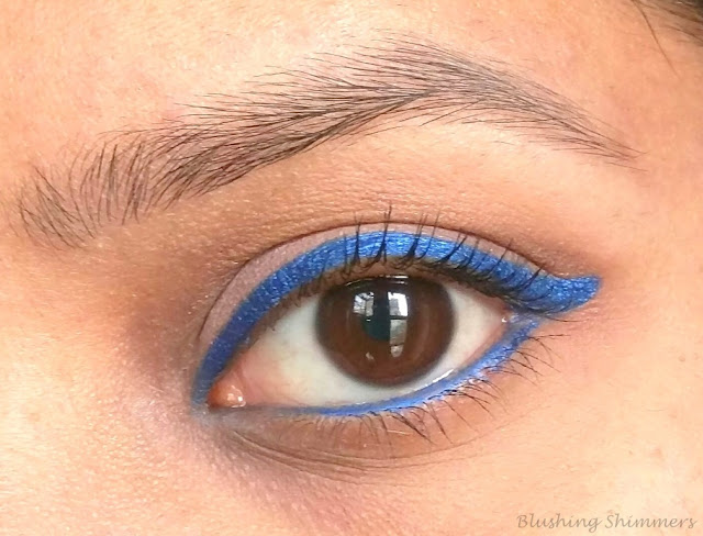 Faces Long Wear Eye Pencil : Persian Blue swatches