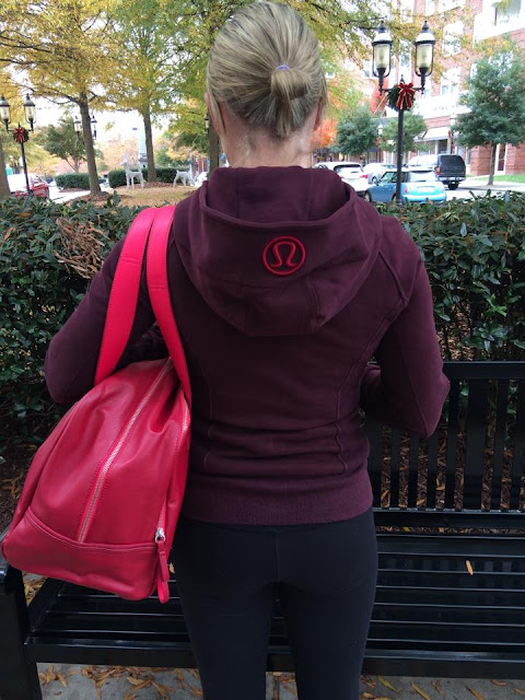lululemon bordeaux scuba