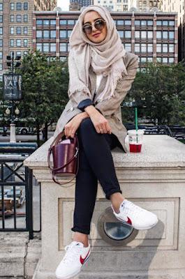 model hijab zaskia sungkar terbaru