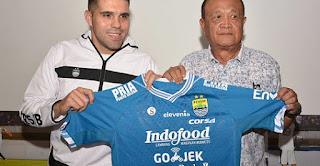 Persib Lepas Fabiano Beltrame ke Tim Liga 2