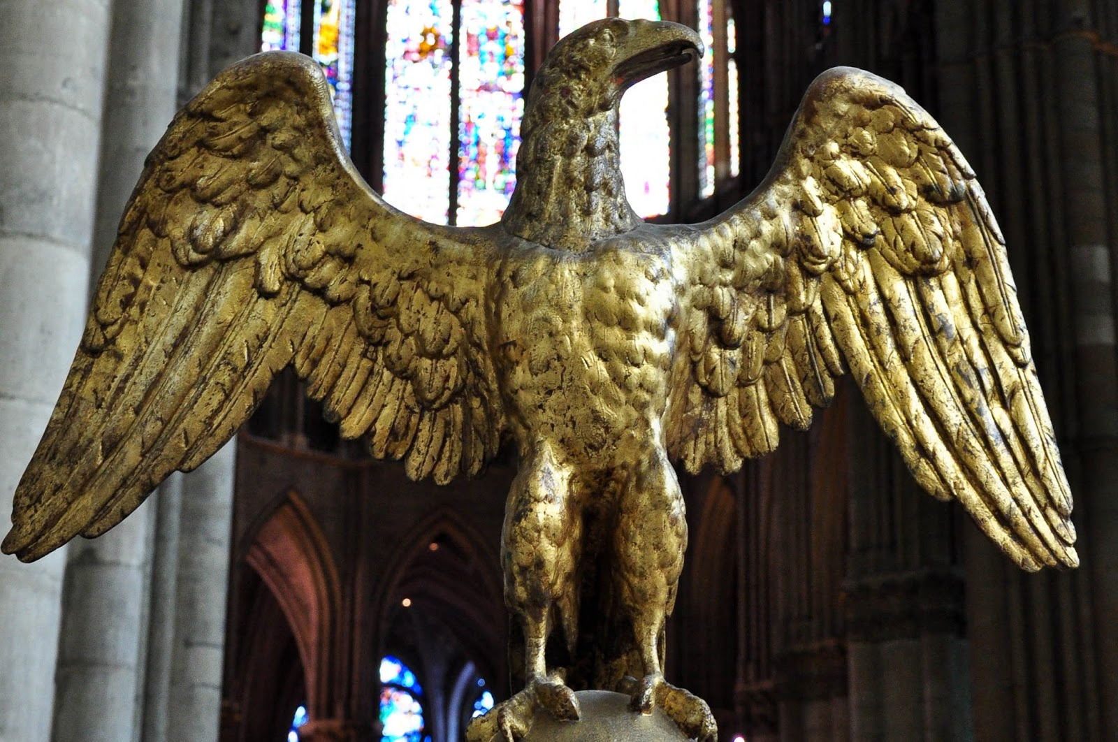 Eagle, Reims Cathedral, Reims, France