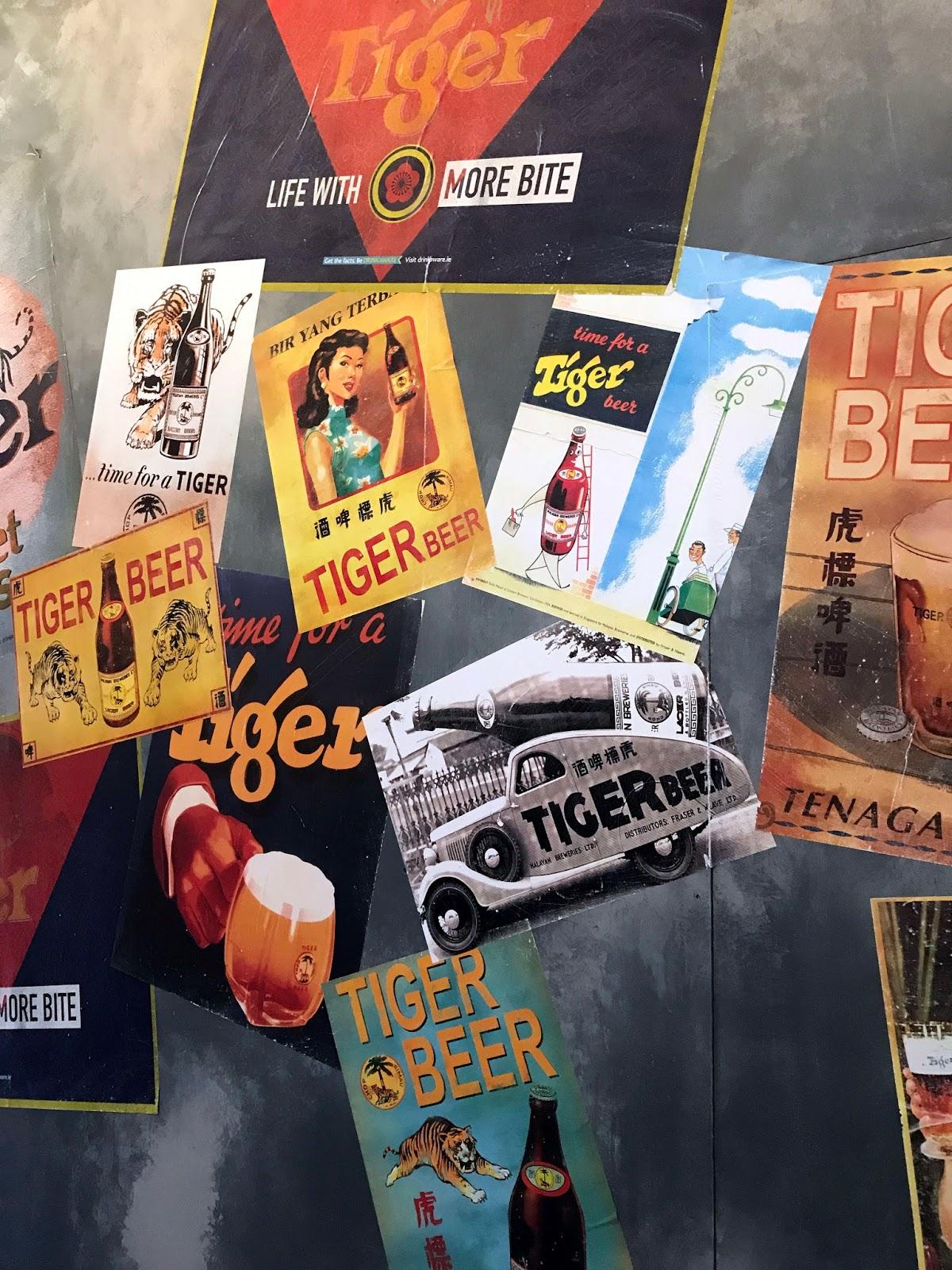 Stitch & Bear - Tiger Street Eats - Wall art