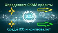 Определяем СКАМ проекты среди ICO и криптовалют