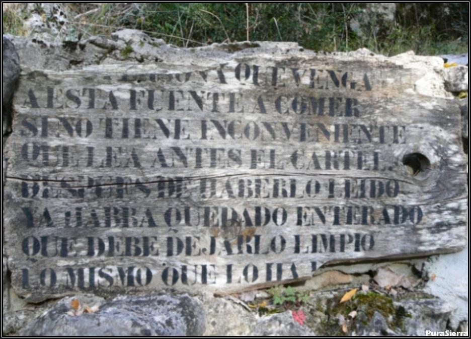 Fuente De La Tía Perra - Cartel
