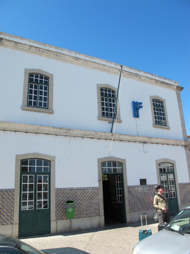 Tavira Station, Algarve, Portugal.