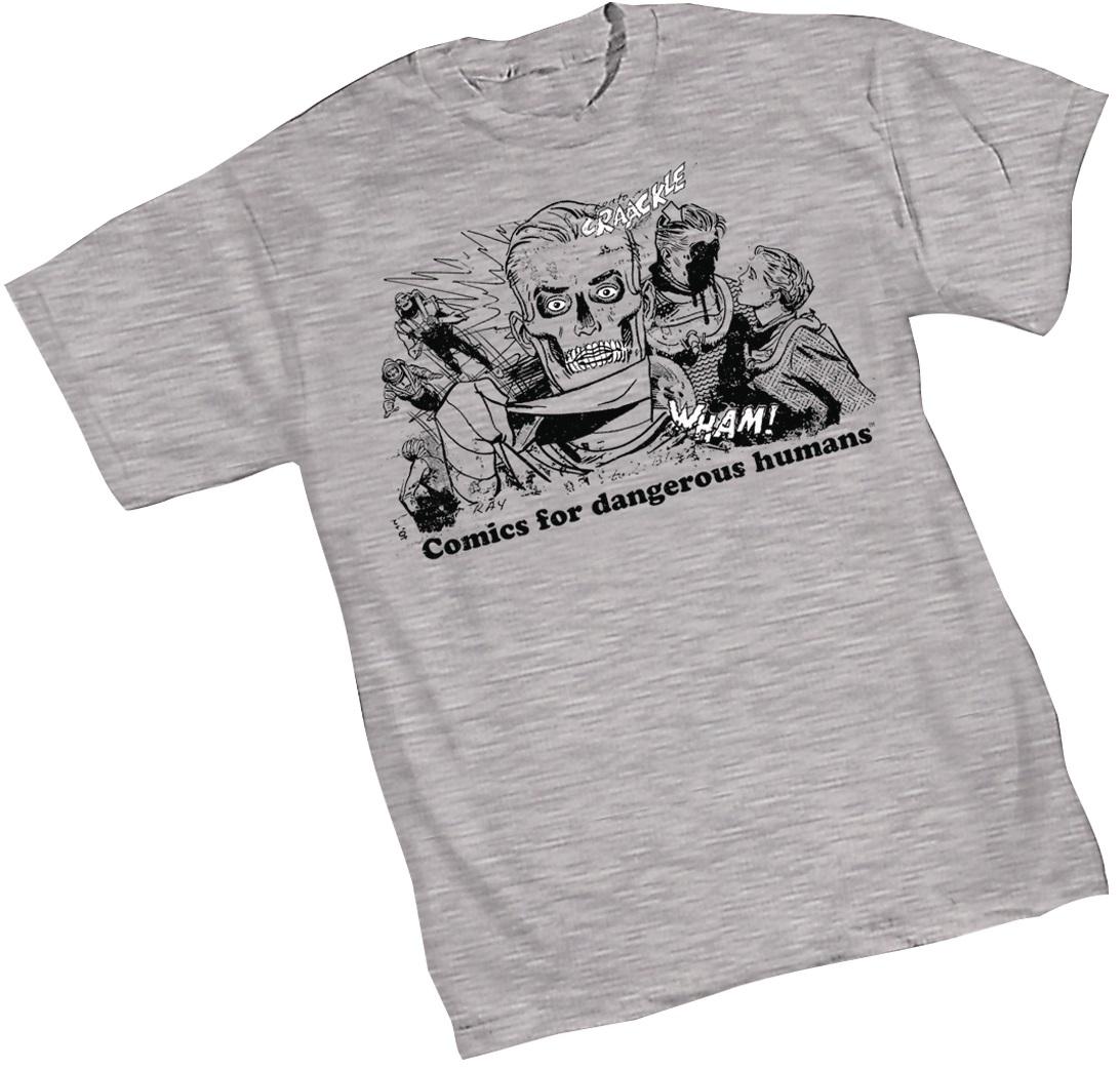 Doom patrol negative man t shirt by nick derington x dc comics x graphitti designs
