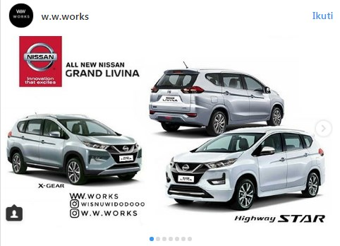All New Grand Livina 2018 Mirip Xpander