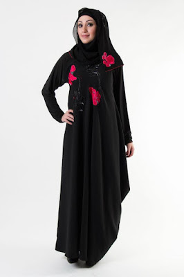 Latest collection of abaya designs 2017