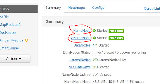 Enabling namenode HA using Apache ambari