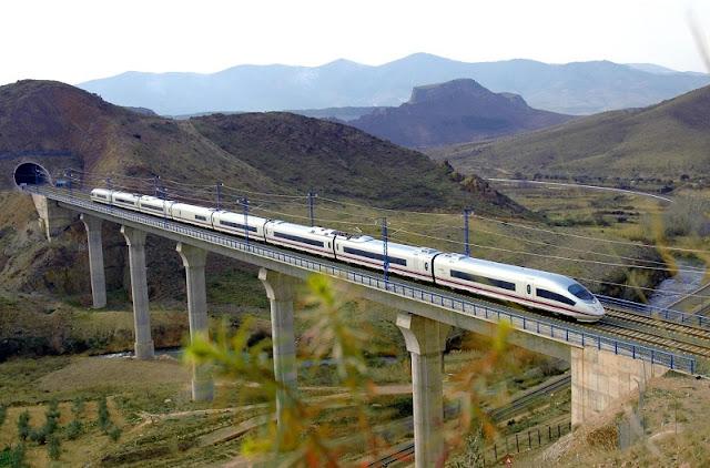Viagem de trem de Madri a Lyon