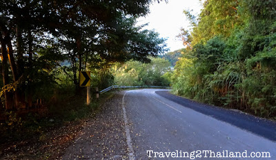 Route 1149 in North Thailand