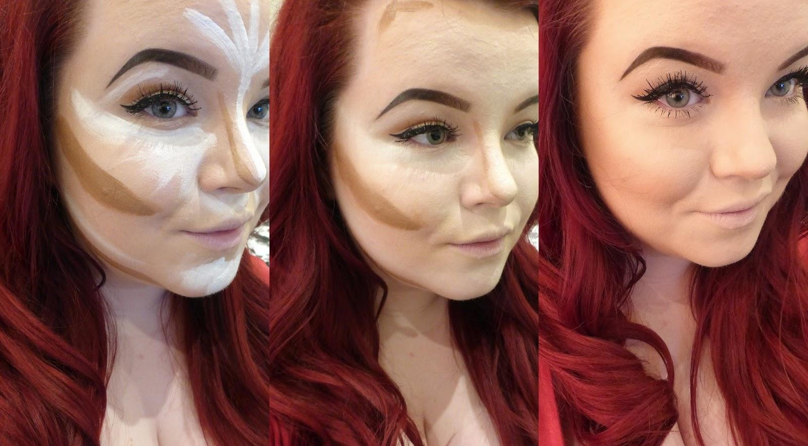 Delightful Contour On Pale Skin ... Nice Ideas