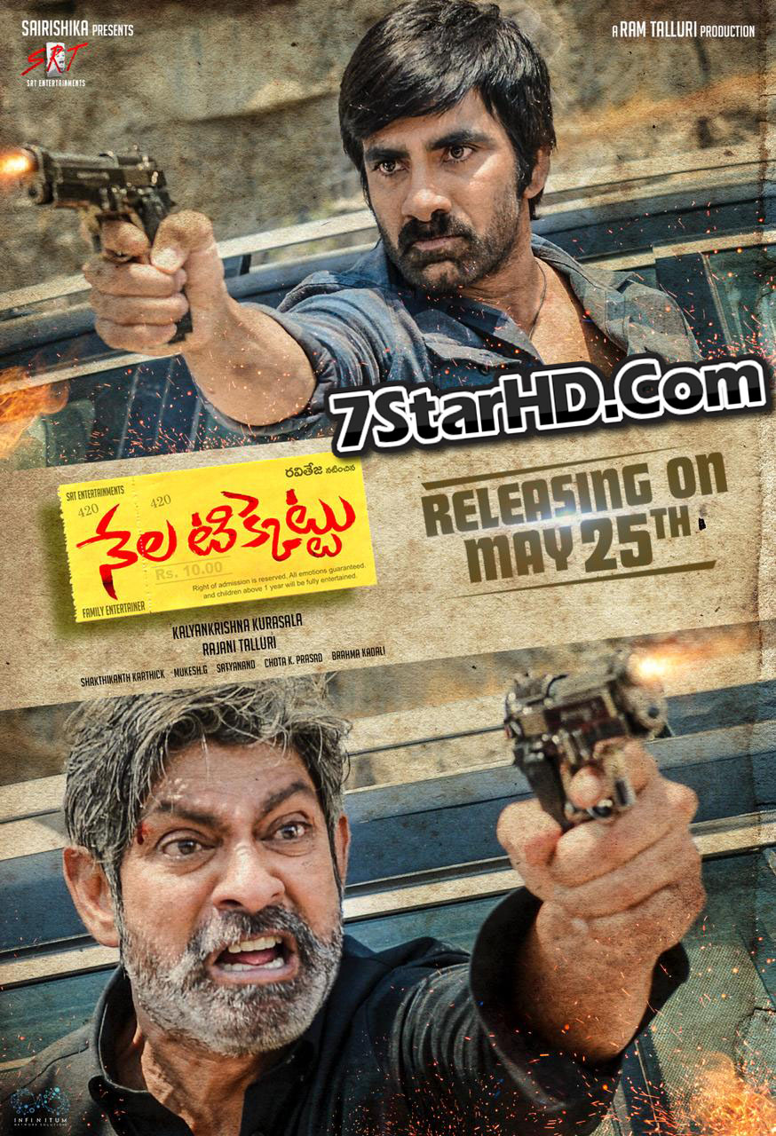 Nela Ticket (2018) Telugu 720p Pre-DVDRip x264 1.4GB Line Audio