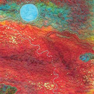 Molten (detail) by Linda A. Miller