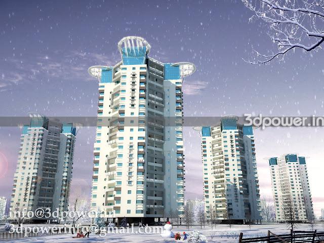 3D Modeling & Rendering Tall Buildings