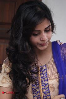 Actress Suza Kumar Pictures in Salwar Kameez at Maaniik Movie Launch  0018.jpg