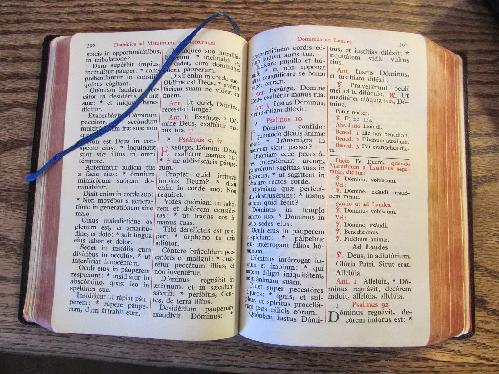 breviarium romanum online