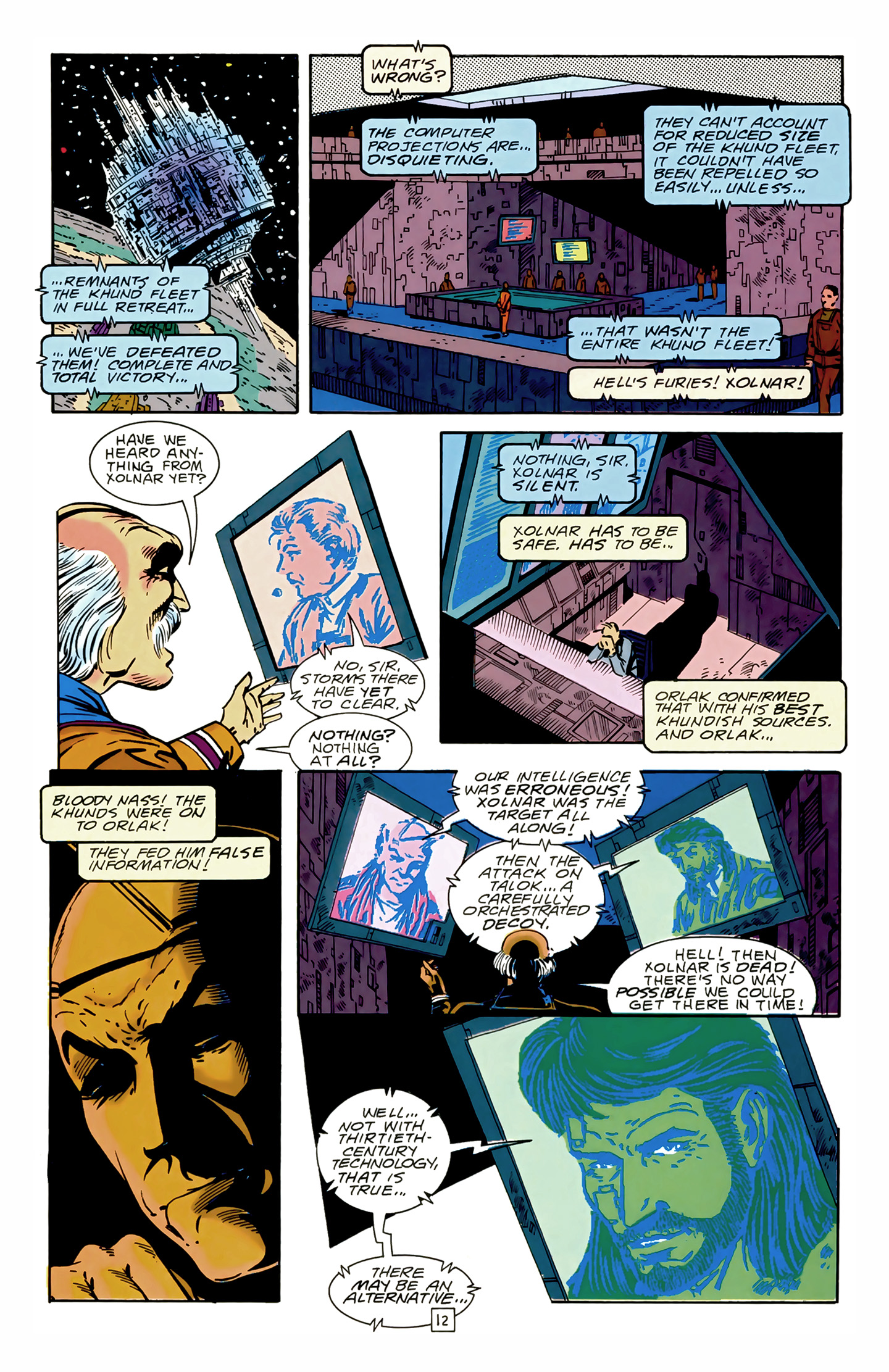 Legion of Super-Heroes (1989) 17 Page 12