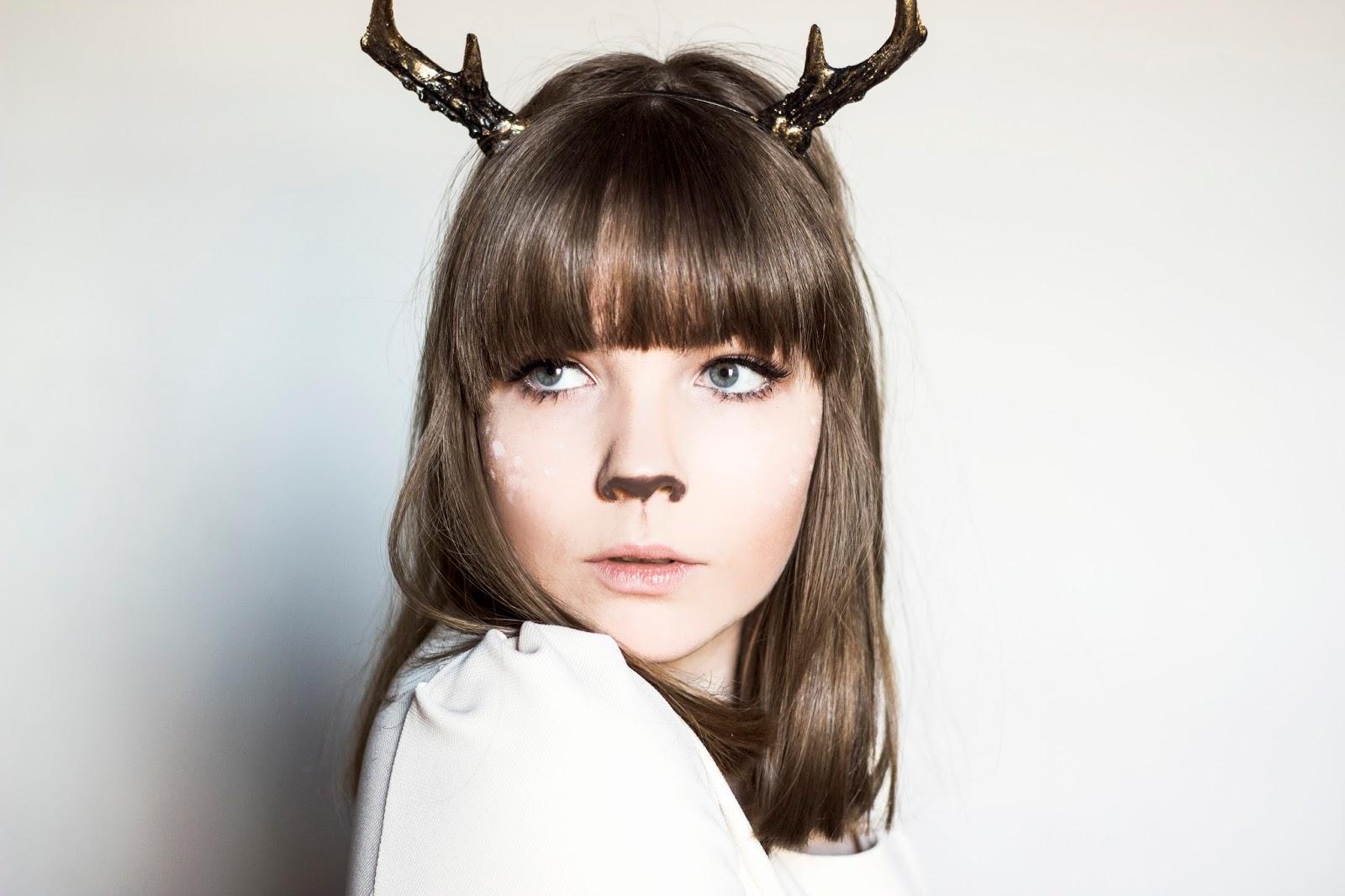 http://www.thewhimsicalwildling.com/2017/01/reindeer-makeup-tutorial-cf.html