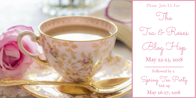 Spring Tea link party and Amazon gift card giveaway