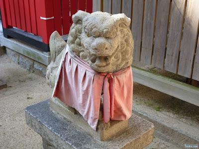 美津社狛犬