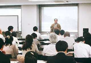 NTTストレスマネジメント研修・三遊亭楽春講演会