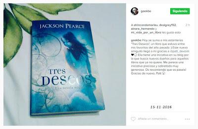 Opinión de Be Geeks sobre su libro a contrarreembolso elegido: Tres deseos
