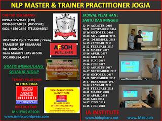 Sertifikasi Pelatihan NLP Trainer di Jogja