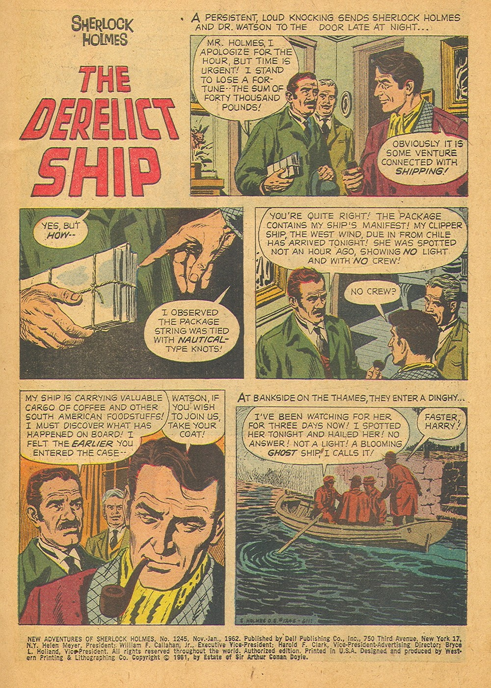 Saved From The Paper Drive: Comic Book Short Story~Sherlock