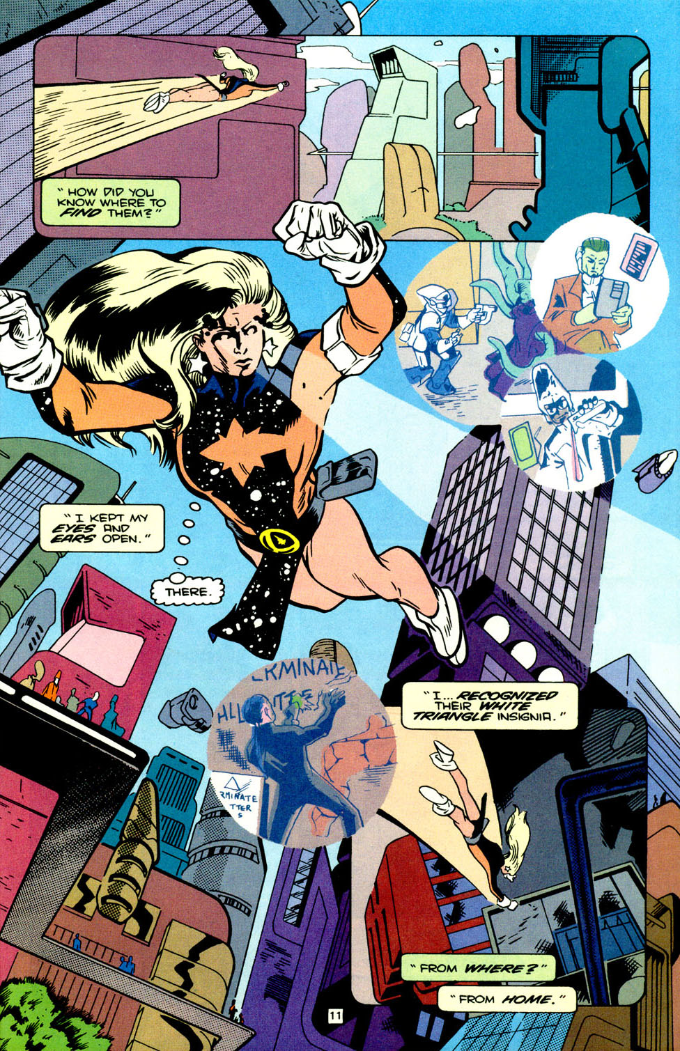 Legion of Super-Heroes (1989) 70 Page 12