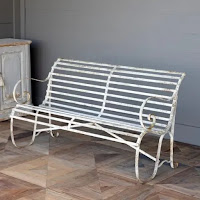 Town Square Bench from A Cottage in the City