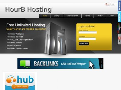 Free Unlimited Webspace,Unlimited Bandwidth