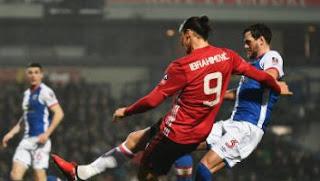 Video Gol Blackburn Rovers vs Manchester United 1-2